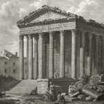 Maison Carrée Clérisseau 1804